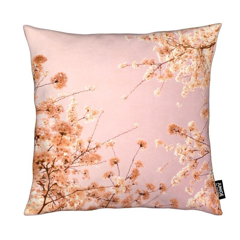 spring delight pink als kissen von iris lehnhardt juniqe. Black Bedroom Furniture Sets. Home Design Ideas
