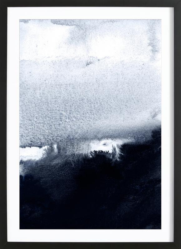 into the deep 2 as poster in wooden frame by iris lehnhardt juniqe