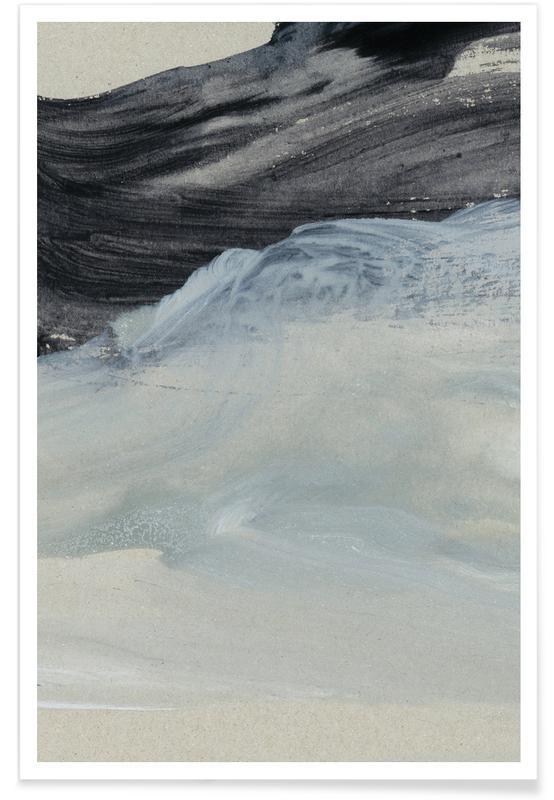 Minimal brushstrokes 1 en affiche premium par iris for Art minimal livre