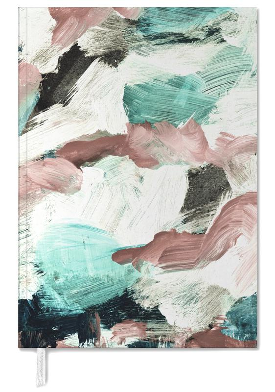 Abstract Painting VI Green Dusty Pink som Personal Planner  9cc18e955feec
