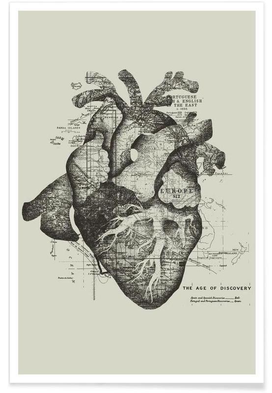 restless heart als premium poster von tobe fonseca juniqe. Black Bedroom Furniture Sets. Home Design Ideas