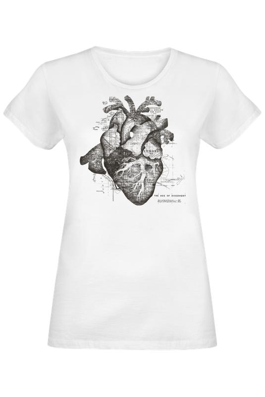 restless heart als frauen t shirt von tobe fonseca juniqe shop. Black Bedroom Furniture Sets. Home Design Ideas