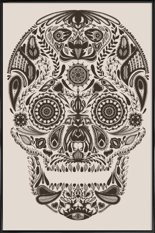 Dia de los muertos as Poster in Standard Frame | JUNIQE