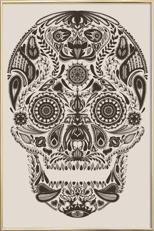 Dia De Los Muertos As Poster In Aluminium Frame Juniqe