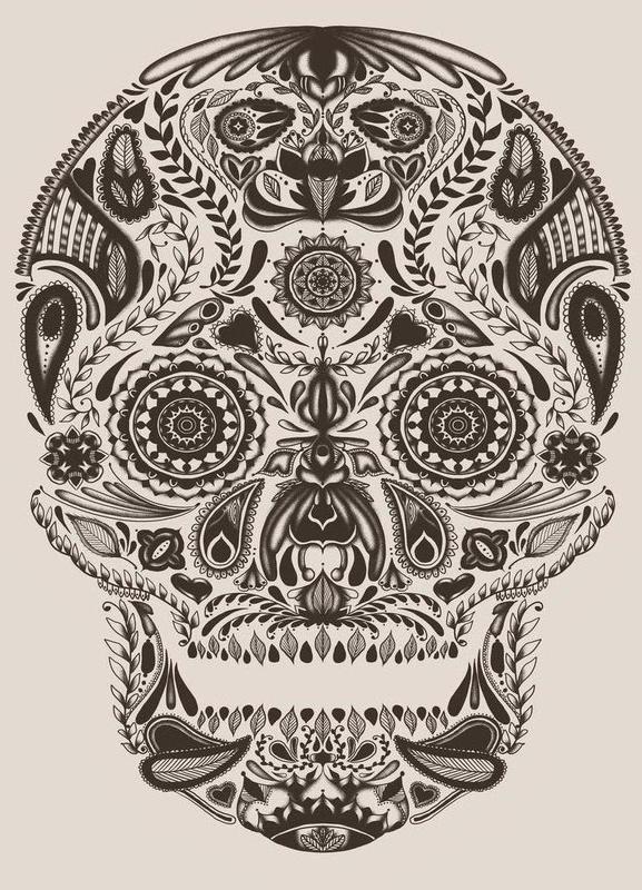 Dia de los muertos as Canvas Print by Tobe Fonseca | JUNIQE
