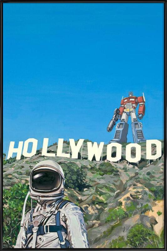 Hollywood Prime as Poster in Standard Frame | JUNIQE