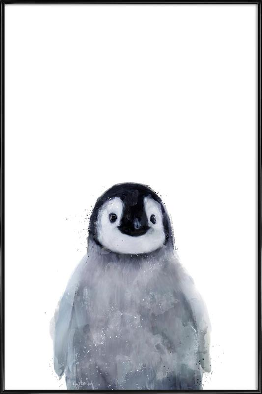 Little Penguin as Poster in Standard Frame by Amy Hamilton | JUNIQE UK