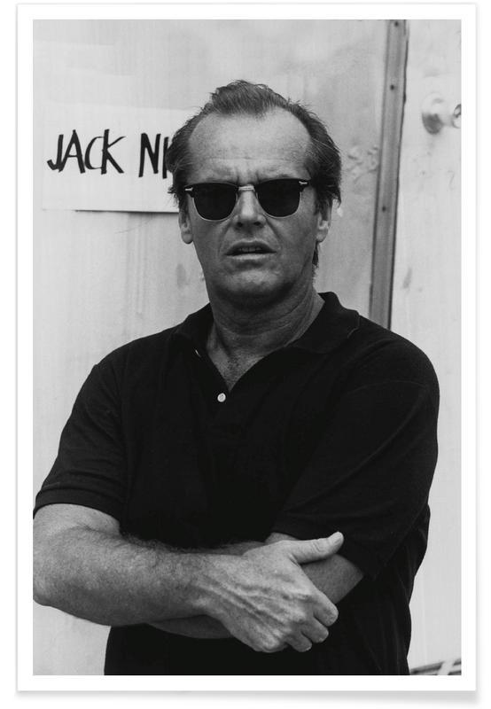 jack nicholson in sunglasses photograph poster