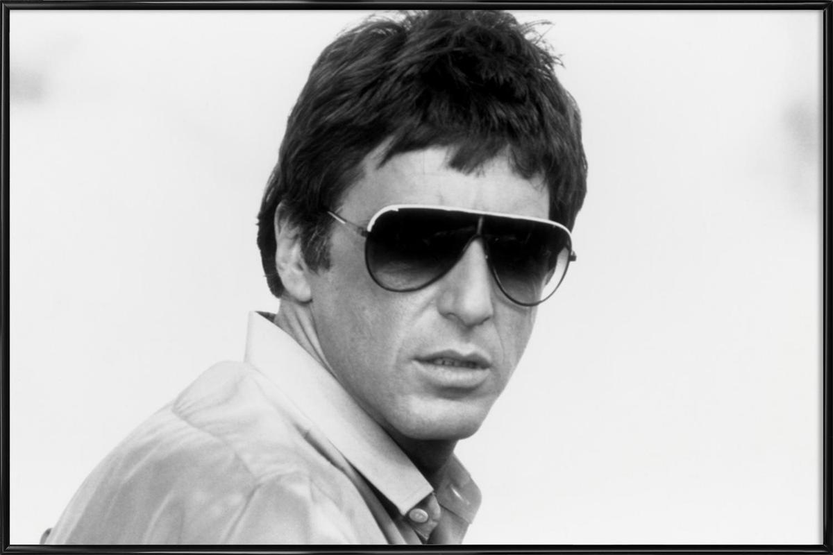 Al Pacino as Tony Montana in \'Scarface\' as Poster in Standard Frame ...