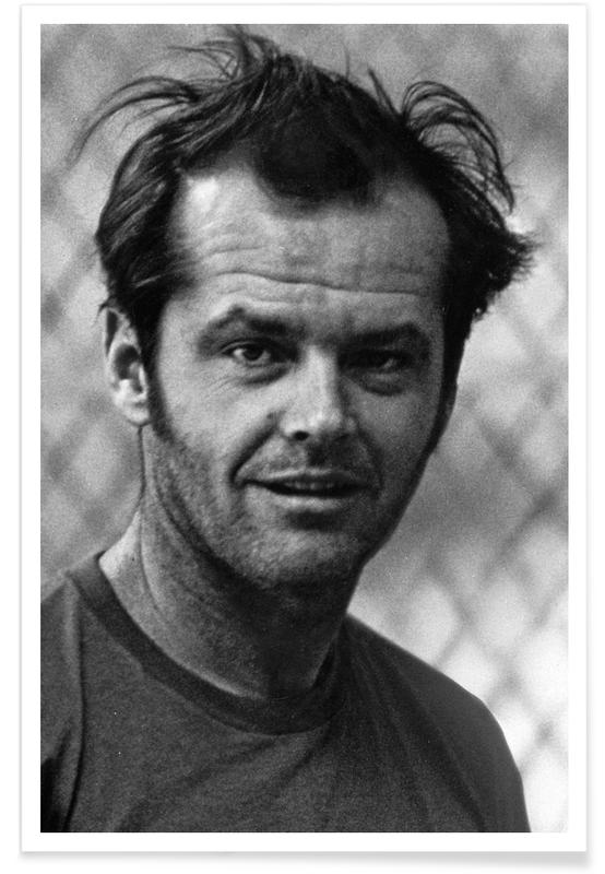Jack Nicholson in 'One Flew Over the Cuckoo's Nest' Poster ...