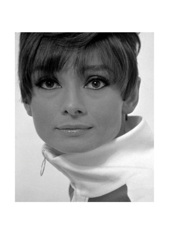 Audrey Hepburn, 1966 as Canvas Print | JUNIQE