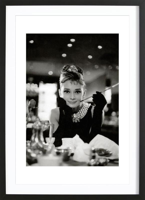 Audrey Hepburn In Breakfast At Tiffany S 1961 As Poster