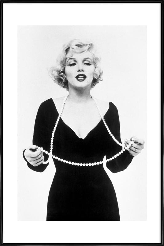 Marilyn Monroe as Poster in Standard Frame | JUNIQE