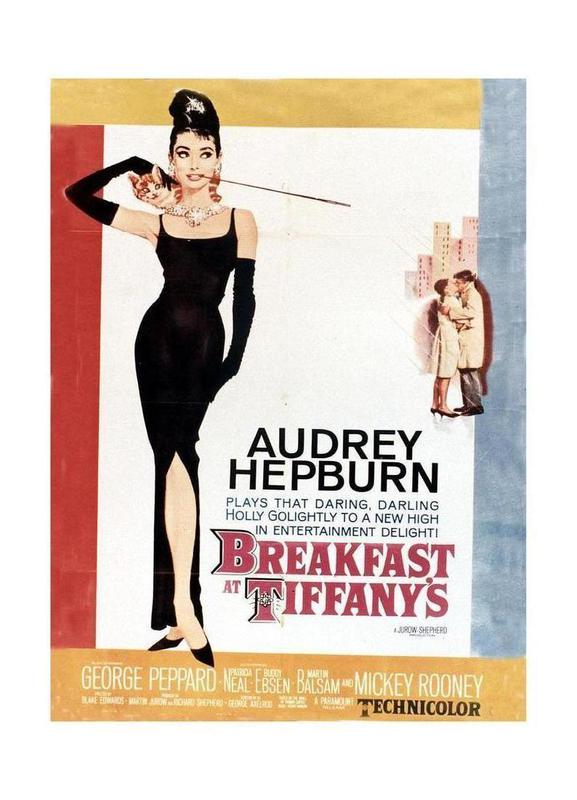 Audrey Hepburn, Breakfast at Tiffany\'s, 1961 as Canvas Print | JUNIQE UK