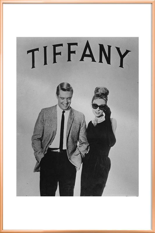 Breakfast At Tiffanys As Poster In Aluminium Frame Juniqe