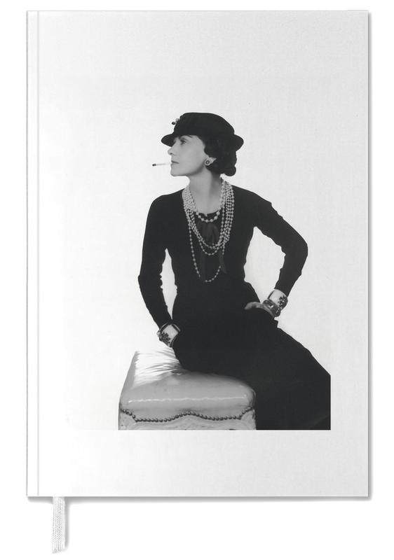 coco chanel als terminplaner von vintage photography archive juniqe. Black Bedroom Furniture Sets. Home Design Ideas