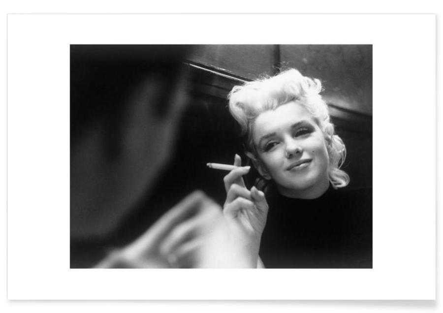 Marilyn Monroe in New York, 1955 as Premium Poster   JUNIQE