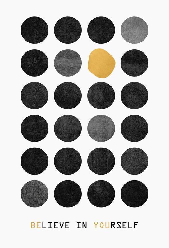 be you als alu dibond druck von elisabeth fredriksson juniqe. Black Bedroom Furniture Sets. Home Design Ideas