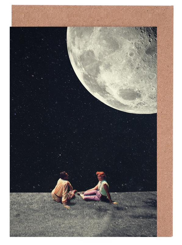 I gave you the moon for a smile as greeting card set juniqe m4hsunfo