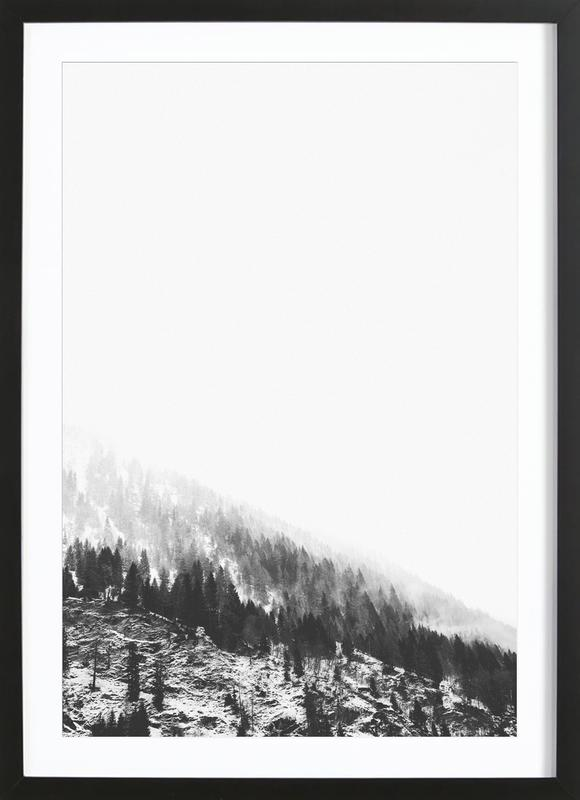Winter Tag 6 as Poster in Wooden Frame | JUNIQE UK