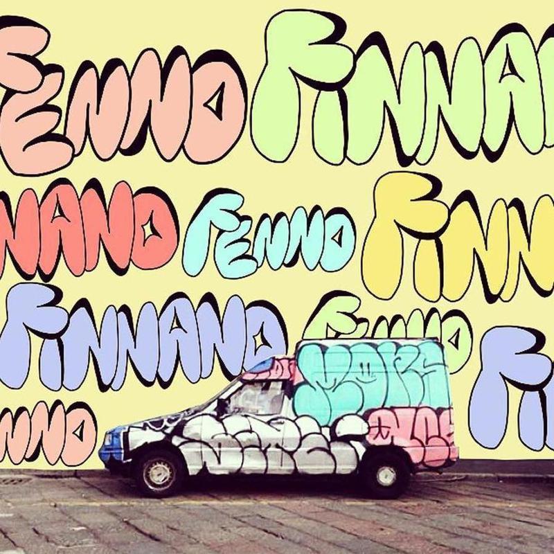 bad graffiti on the screen as Canvas Print by FinnanoFenno   JUNIQE