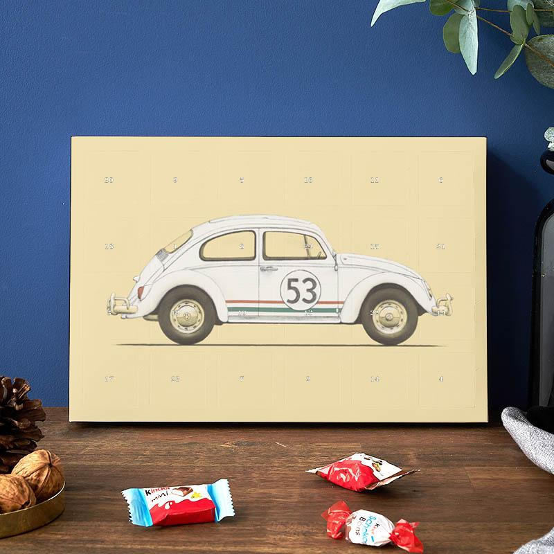 Calendrier Side Car Cross 2019.Famous Car 2019 Chocolate Advent Calendar Kinder