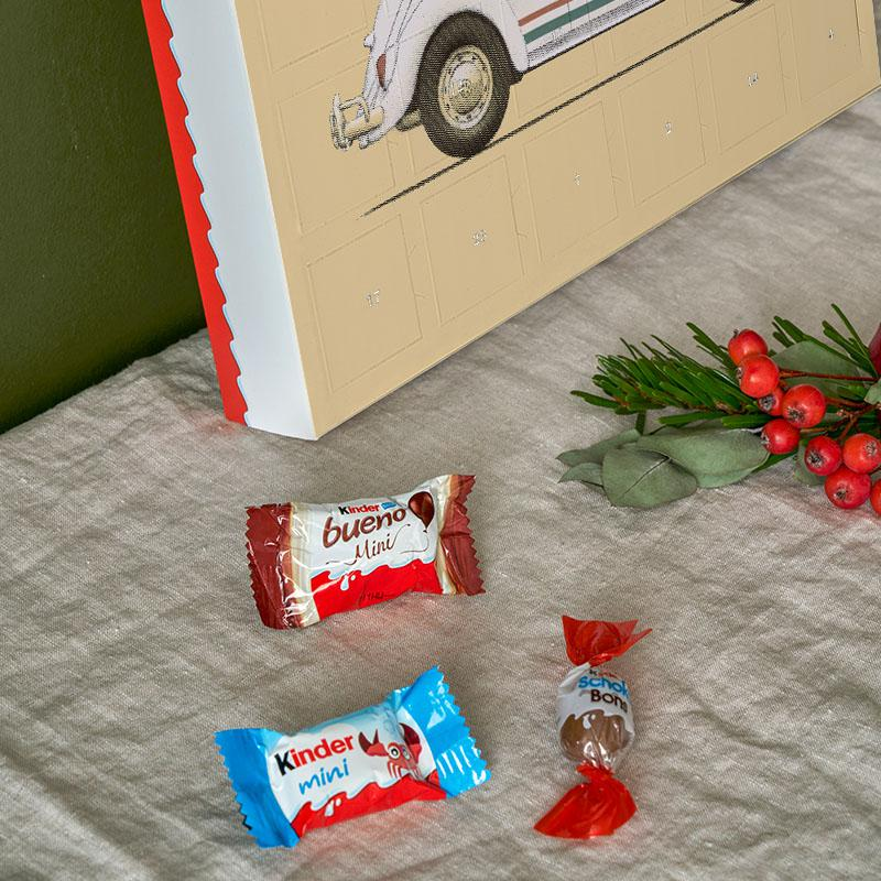 Calendrier Avent Kinder 2020.Famous Car 2019 Chocolate Advent Calendar Kinder
