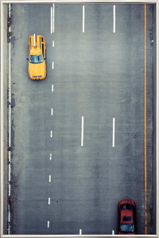 Chasing Cars En Affiche Sous Cadre En Aluminium Juniqe