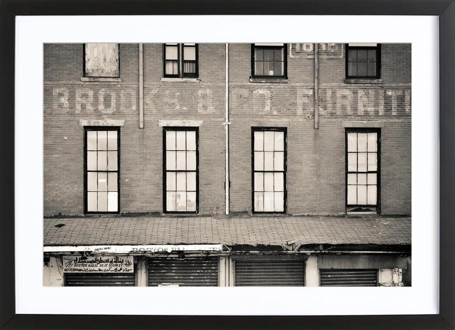 Brooks & Company as Poster in Wooden Frame | JUNIQE