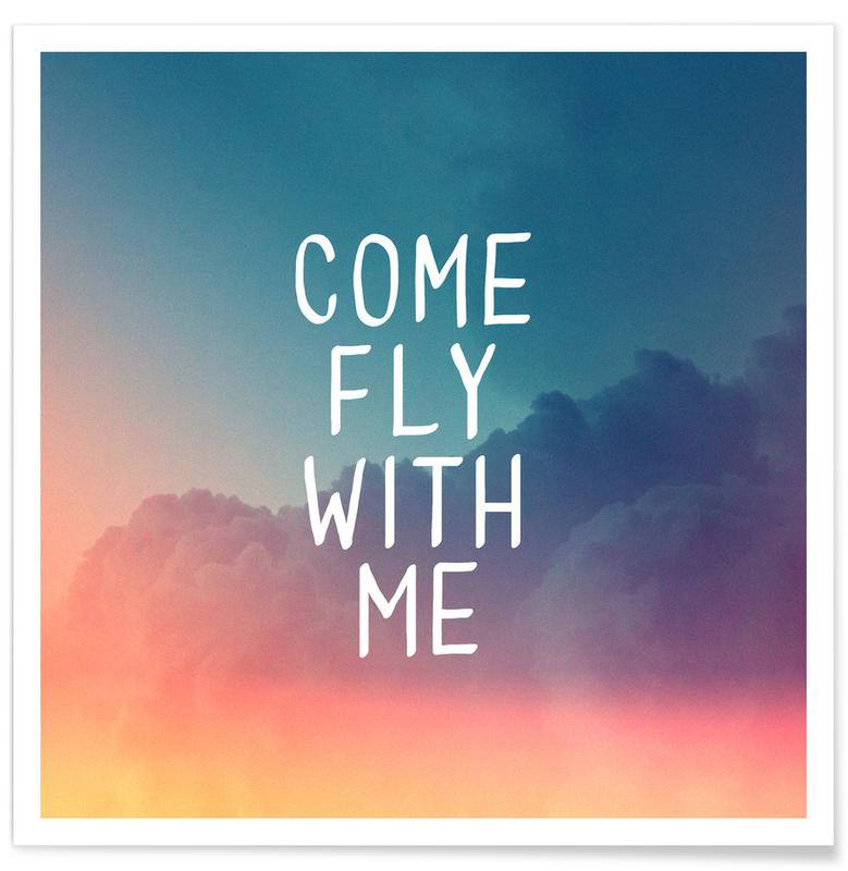 Come Fly With Me Poster Juniqe