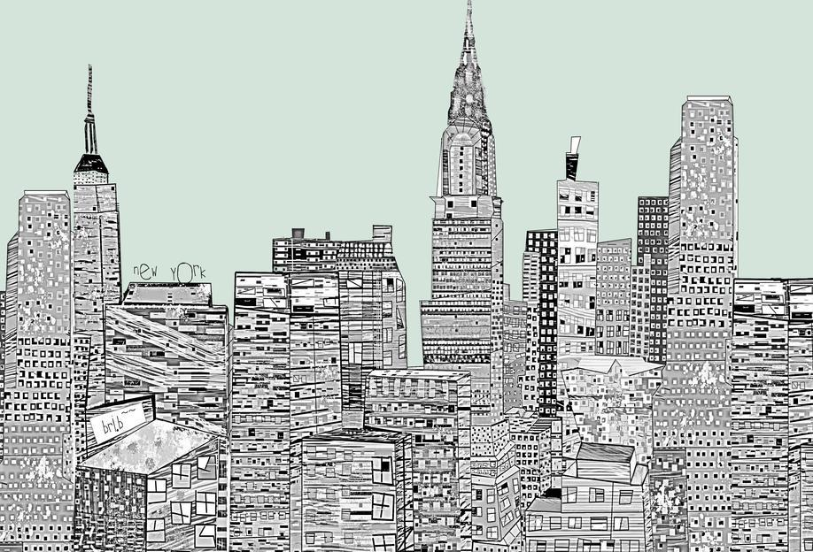 new york vintage als acrylglasbild von brian buckley juniqe. Black Bedroom Furniture Sets. Home Design Ideas