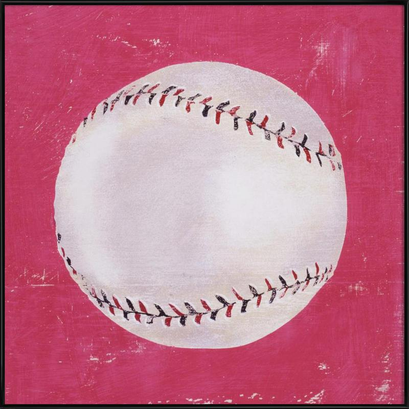 Baseball as Poster in Standard Frame by Andy Bridge | JUNIQE