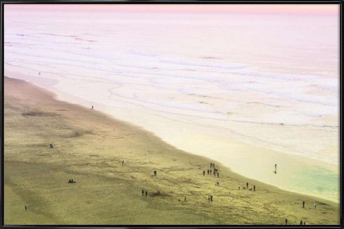 Ocean Beach California as Poster in Standard Frame | JUNIQE