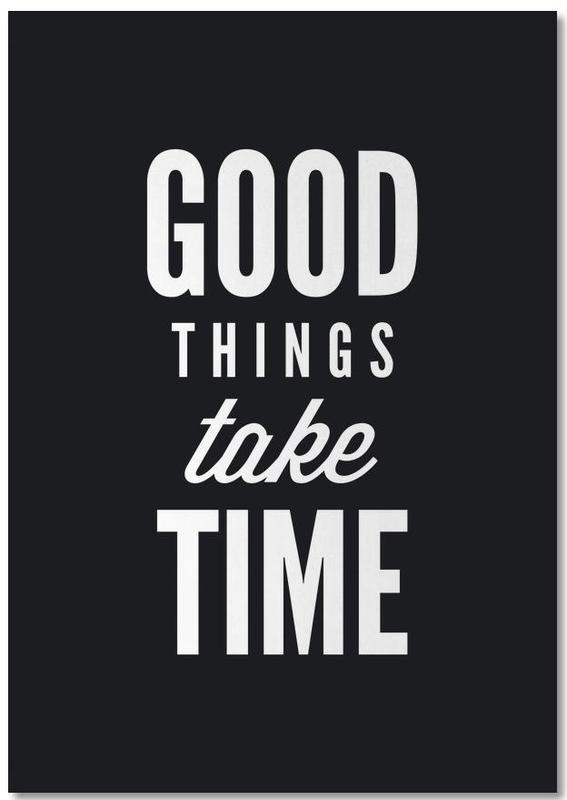 Good Things Take Time Notepad Juniqe