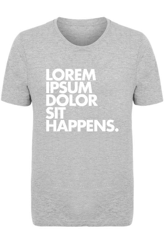 lorem ipsum dolor white as men 39 s t shirt by words brand juniqe. Black Bedroom Furniture Sets. Home Design Ideas