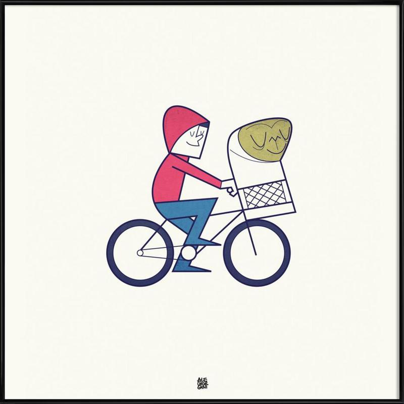 I believe in you as Poster in Standard Frame by Ale Giorgini | JUNIQE