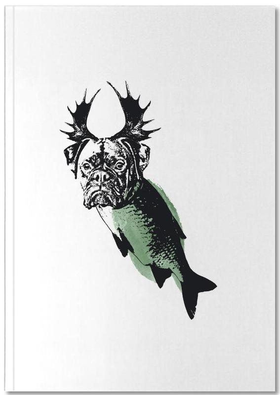 green dog als premium notizbuch von van kladderadatsch juniqe ch. Black Bedroom Furniture Sets. Home Design Ideas