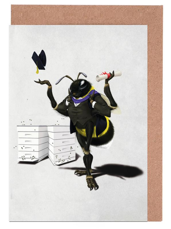 To bee or not to bee as greeting card set juniqe m4hsunfo