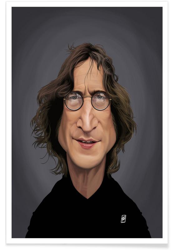 5c608c13ea348 John Lennon as Poster by Rob Snow