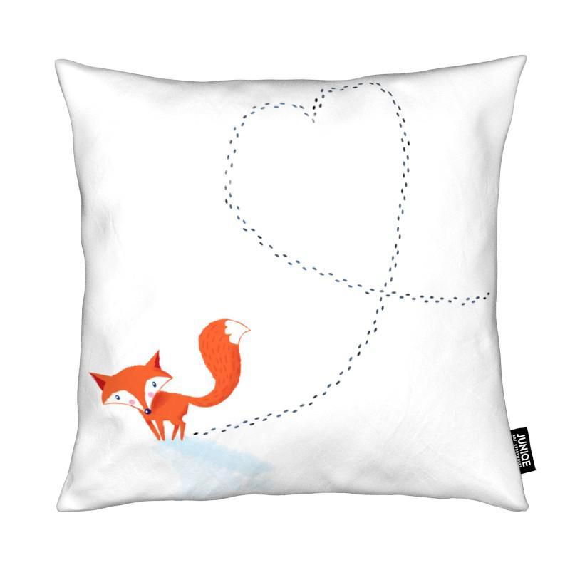 foxy love als kissen von dinomike juniqe ch. Black Bedroom Furniture Sets. Home Design Ideas