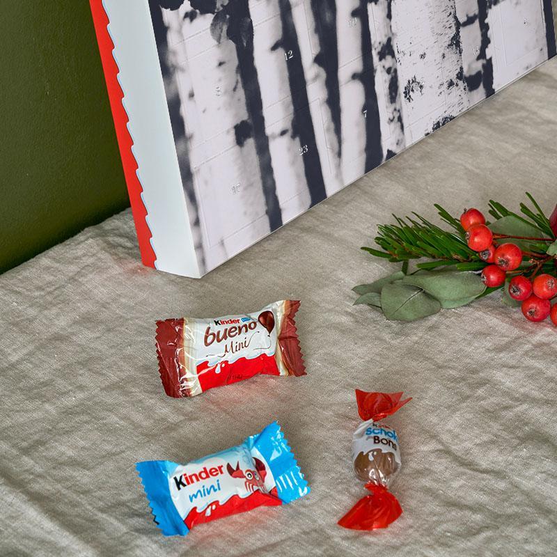 Calendrier De Lavent 2019 Kinder.Birches Calendrier De L Avent 2019 Chocolats Kinder