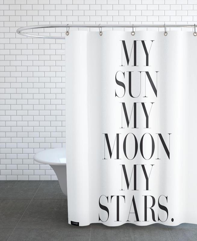 My Sun Moon Shower Curtain