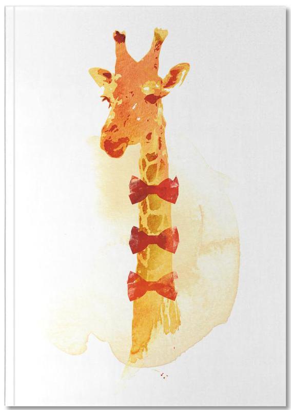 elegant giraffe als premium notizbuch von r bert farkas juniqe. Black Bedroom Furniture Sets. Home Design Ideas