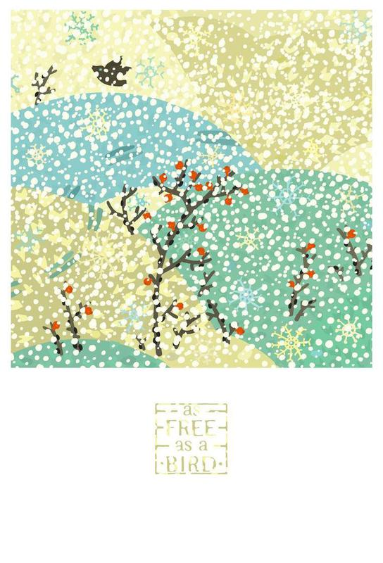 As free as a bird as Aluminium Print by Lidia Blomgren | JUNIQE