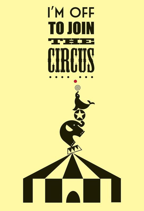 Circus as Acrylic Glass Print by Trabolt Design | JUNIQE