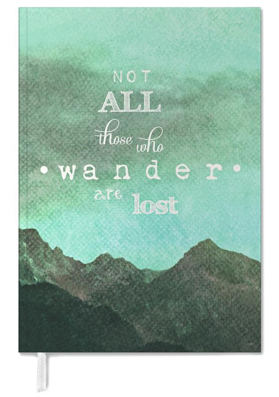 Not All Those Who Wander Are Lost As Personal Planner | JUNIQE
