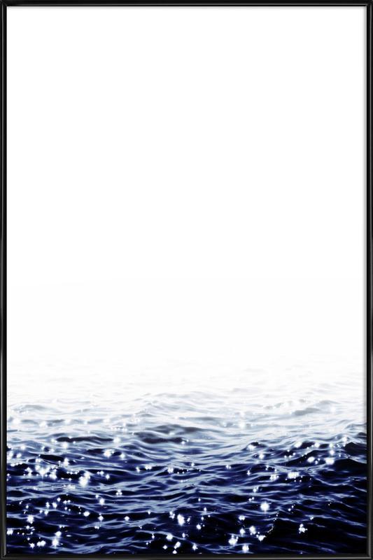 Sparkling Sea as Poster in Standard Frame by Monika Strigel | JUNIQE UK