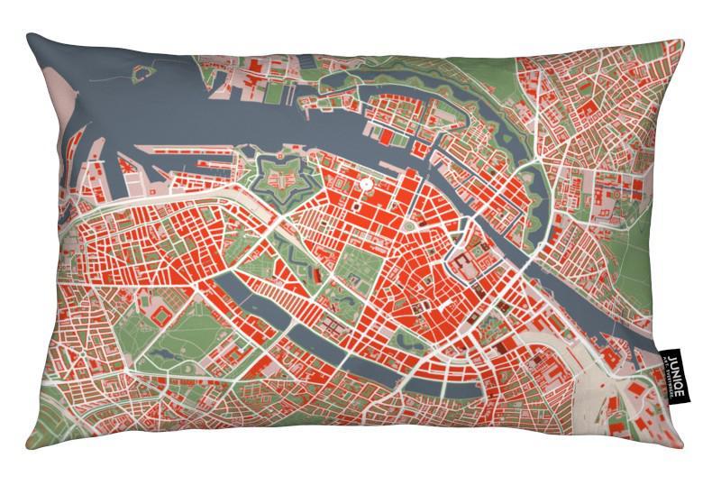 copenhagen classic als kissen von planos urbanos juniqe ch. Black Bedroom Furniture Sets. Home Design Ideas