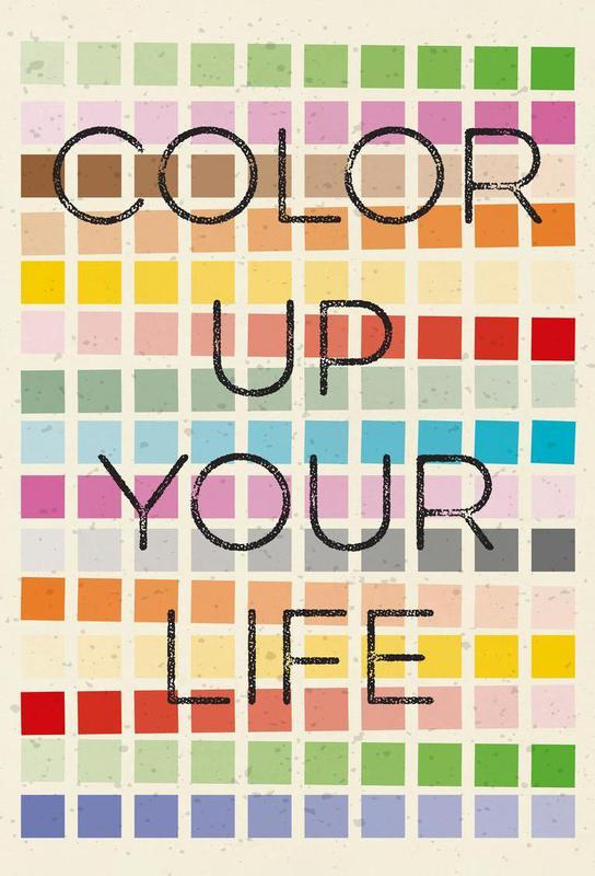 color up your life als acrylglasbild von metron juniqe. Black Bedroom Furniture Sets. Home Design Ideas