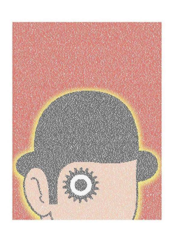 A Clockwork Orange As Canvas Print By Robotic Ewe Juniqe
